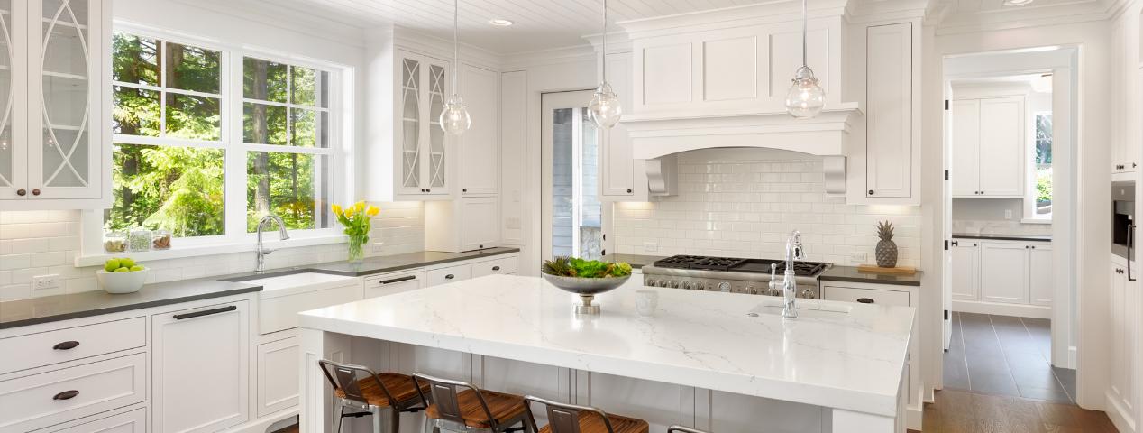 stunning spring kitchen