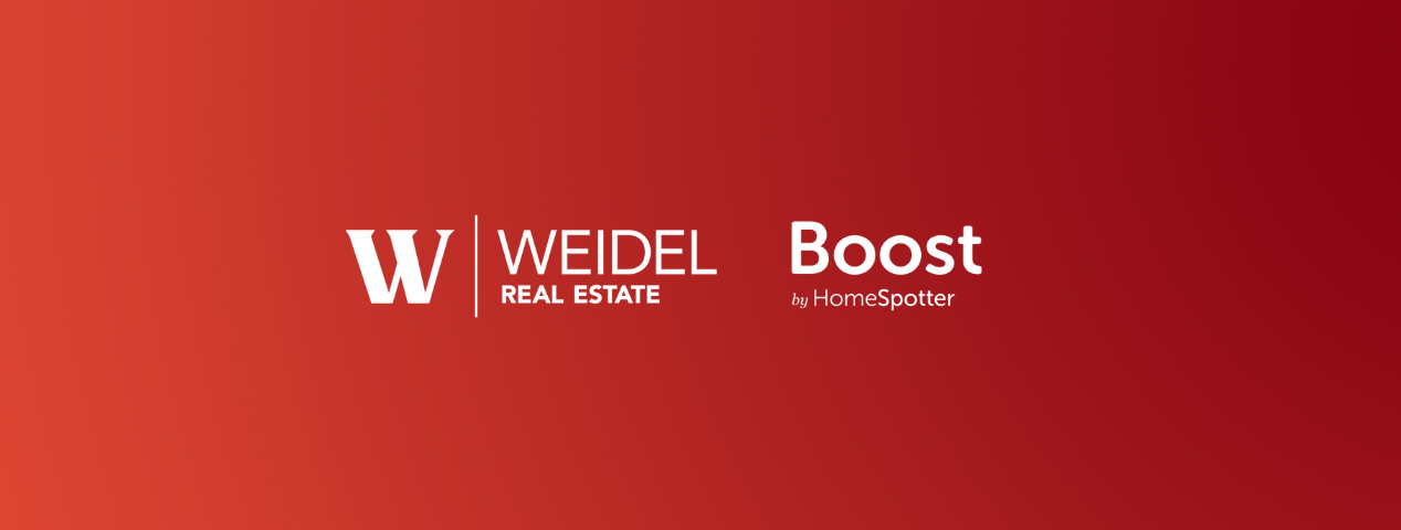 Weidel partnership with boost by homespotter