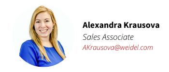 Weidel Real Estate Agent Alexandra Krausova