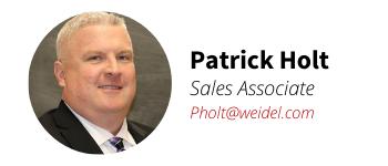 Weidel Sales Associate Pat Holt