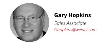 Weidel Real Estate Agent Gary Hopkins