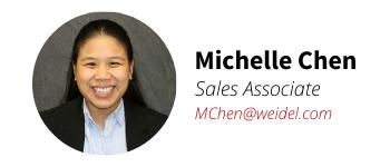 Weidel Real Estate Agent Michelle Chen
