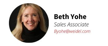 Weidel Real Estate Agent Beth Yohe