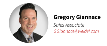 Weidel Real Estate Agent Gregory Giannce