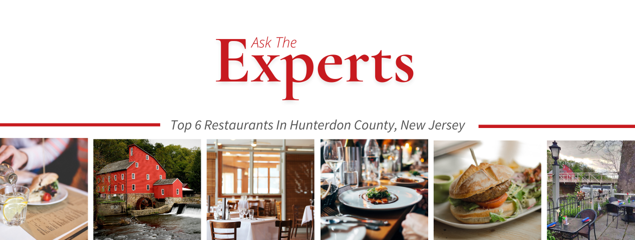 recommended restaurants in Hunterdon County