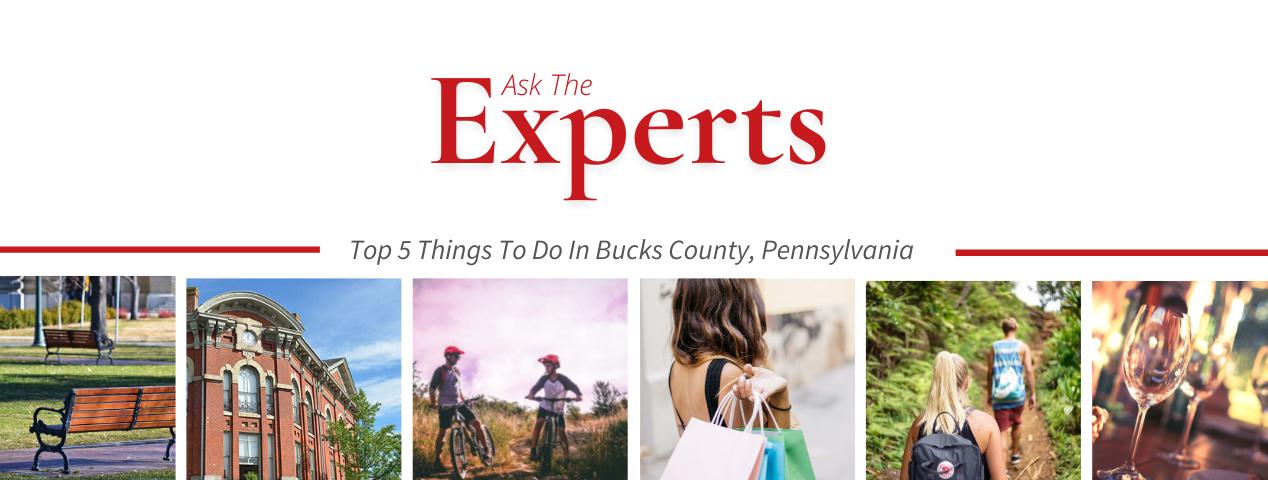 Activities do to in bucks county