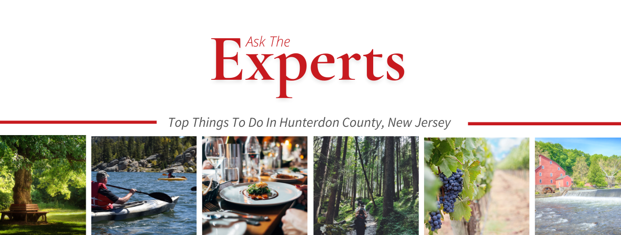 Recommended activities in hunterdon county