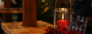 Holiday Decor Candle