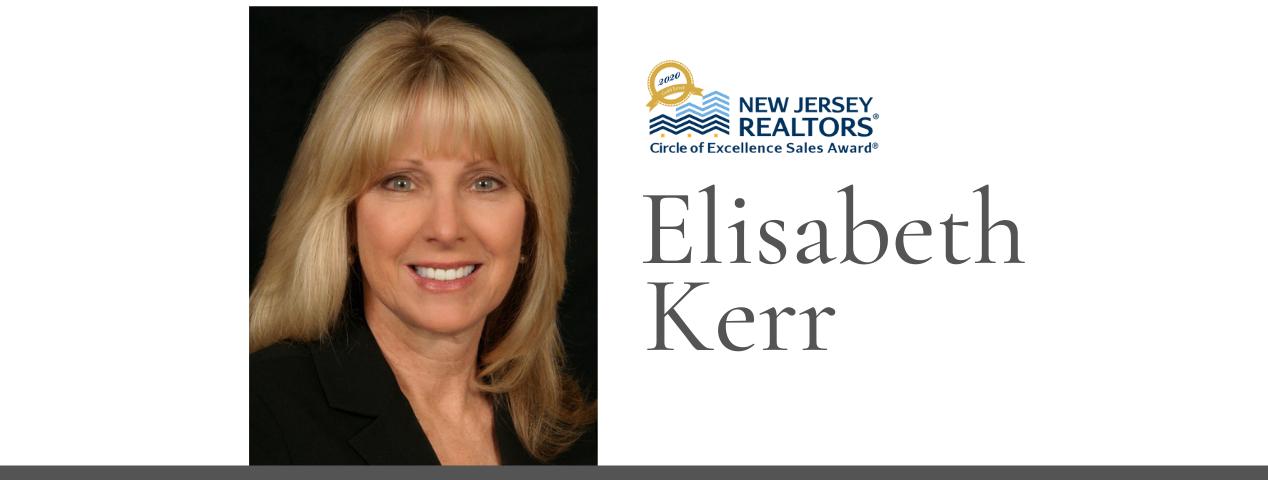2020 NJ REALTORS® Circle of Excellence Sales Award® Gold.