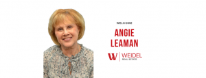 Weidel Welcomes Angie Leaman